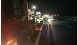Read more: VIDEO. Accident mortal pe A1. Victima nu a fost, încă, identificată