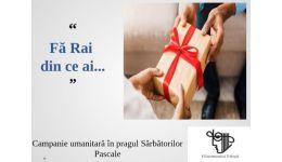 Read more: De Paști, campanie umanitară la Filarmonica Pitești