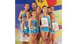 Read more: Olimpic Argeș Gym a reprezentat România la Campionatul Internațional de Gimnastică Estetică în Grup