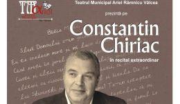 Read more: Constantin Chiriac, în recital extraordinar la Râmnicu Vâlcea, la invitația Teatrului Municipal ARIEL