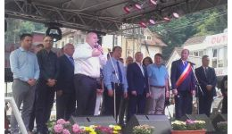 Read more: Trei discursuri pentru istoria orașului Băile Olănești: preşedintele CJ Vâlcea Costi Rădulescu, deputaţii PSD Eugen Neaţă şi Daniela Oteşanu