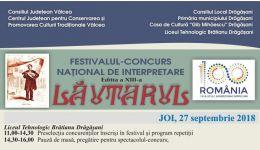 Read more: La Drăgășani începe Festivalul-Concurs Național de Interpretare