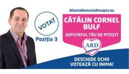 """Read more: Alegeri în Argeș. Cătălin Bulf: """"Redistribuirea nu ar trebui să existe!"""""""