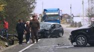 Accident în Argeș. A ieșit de pe o străduță fără se se asigure