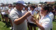 Campionatul Național de Oină. Până acum, fetele de la Mioveni și-au adjudecat 3 titluri: unul de campioană națională, altul de vicecampioană, dar și pe cel de Miss Oina