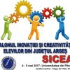 Salonul Inovației și Creativității Elevilor din Județul Argeș, la Universitatea din Pitești
