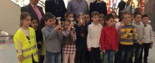 Astăzi, în incinta River Plazza Mall din Râmnicu Vâlcea, a avut loc concursul MICUL PIETON