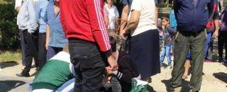 Accident în Argeș: A traversat strada fără să se asigure